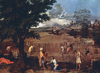 Summer, or, Ruth and Boaz.  Poussin, Nicolas, 1594?-1665  Click to enter image viewer  Use the Save buttons below to save any of the available image sizes to your computer.