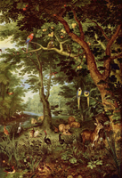 Paradise.  Bruegel, Jan, 1568-1625  Click to enter image viewer  Use the Save buttons below to save any of the available image sizes to your computer.