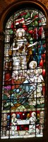 Trinity Church, Boston - Christ's Victory Over Death.   Click to enter image viewer  Use the Save buttons below to save any of the available image sizes to your computer.
