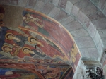 Murals and interior of Saint-Julien in Brioude, France..   Click to enter image viewer  Use the Save buttons below to save any of the available image sizes to your computer.
