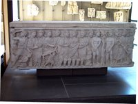 Sarcophagus Frontal.   Click to enter image viewer  Use the Save buttons below to save any of the available image sizes to your computer.