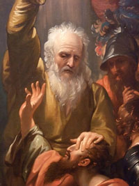Conversion of St. Paul.  West, Benjamin, 1738-1820  Click to enter image viewer  Use the Save buttons below to save any of the available image sizes to your computer.