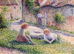 Children at the Farm.  Pissarro, Camille, 1830-1903  Click to enter image viewer  Use the Save buttons below to save any of the available image sizes to your computer.