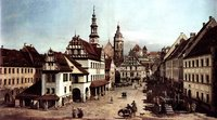 Marketplace of Pirna.  Bellotto, Bernardo, 1721-1780  Click to enter image viewer  Use the Save buttons below to save any of the available image sizes to your computer.