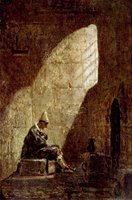 Ash Wednesday.  Spitzweg, Karl, 1808-1885  Click to enter image viewer  Use the Save buttons below to save any of the available image sizes to your computer.