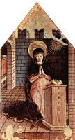 Mary of the Annunciation.  Crivelli, Carlo, 15th cent.  Click to enter image viewer  Use the Save buttons below to save any of the available image sizes to your computer.