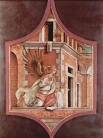 Angel Gabriel of the Annunciation.  Crivelli, Carlo, 15th cent.  Click to enter image viewer  Use the Save buttons below to save any of the available image sizes to your computer.