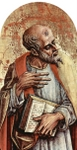 Apostle.  Crivelli, Carlo, 15th cent.  Click to enter image viewer  Use the Save buttons below to save any of the available image sizes to your computer.