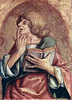 John, the Apostle.  Crivelli, Carlo, 15th cent.  Click to enter image viewer  Use the Save buttons below to save any of the available image sizes to your computer.