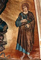 John, the Evangelist.  Cimabue  Click to enter image viewer  Use the Save buttons below to save any of the available image sizes to your computer.