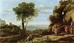 Landscape with David and Three Heroes.  Lorrain, Claude, 1600-1682  Click to enter image viewer  Use the Save buttons below to save any of the available image sizes to your computer.