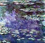 Waterlilies.  Monet, Claude, 1840-1926  Click to enter image viewer  Use the Save buttons below to save any of the available image sizes to your computer.