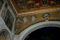 Angels with Symbol of St. Matthew-Basilica of Cosmas and Damien.   Click to enter image viewer  Use the Save buttons below to save any of the available image sizes to your computer.