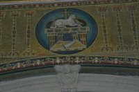 Lamb of God -Basilica of Cosmas and Damien.   Click to enter image viewer  Use the Save buttons below to save any of the available image sizes to your computer.