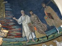 St. Theodoras, Damien, and Peter - Basilica of Cosmas and Damien.   Click to enter image viewer  Use the Save buttons below to save any of the available image sizes to your computer.