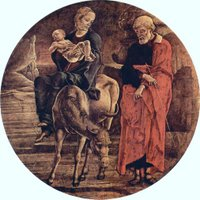 Flight into Egypt.  Tura, Cosmè, ca. 1430-1495  Click to enter image viewer  Use the Save buttons below to save any of the available image sizes to your computer.