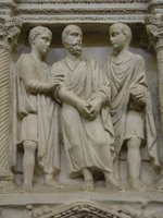Sarcophagus of Junius Bassus.   Click to enter image viewer  Use the Save buttons below to save any of the available image sizes to your computer.