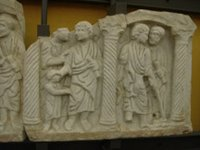 Christ Performing Miracles, Healing the blind.   Click to enter image viewer  Use the Save buttons below to save any of the available image sizes to your computer.