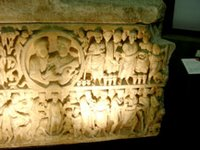 Sarcophagus Frontal, right side.   Click to enter image viewer  Use the Save buttons below to save any of the available image sizes to your computer.