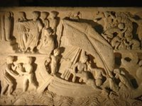 Jonah, Raising of Lazarus, Striking of the Rock.   Click to enter image viewer  Use the Save buttons below to save any of the available image sizes to your computer.