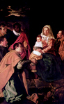 Adoration of the Christ Child by the Three Kings.  Velázquez, Diego, 1599-1660  Click to enter image viewer  Use the Save buttons below to save any of the available image sizes to your computer.