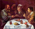 Peasants Having a Meal.  Velázquez, Diego, 1599-1660  Click to enter image viewer  Use the Save buttons below to save any of the available image sizes to your computer.