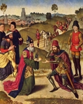 Abraham and Melchizedek.
