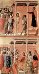 Flagellation (top);  Christ Crowned with Thorns (bottom).  Duccio, di Buoninsegna, d. 1319  Click to enter image viewer  Use the Save buttons below to save any of the available image sizes to your computer.