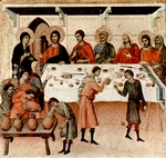 Wedding at Cana.  Duccio, di Buoninsegna, -1319?  Click to enter image viewer  Use the Save buttons below to save any of the available image sizes to your computer.