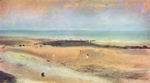 Seaside at Low Tide.  Degas, Edgar, 1834-1917  Click to enter image viewer  Use the Save buttons below to save any of the available image sizes to your computer.