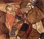 Agony.  Schiele, Egon, 1890-1918  Click to enter image viewer  Use the Save buttons below to save any of the available image sizes to your computer.