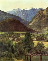 Landscape - Austria.  Waldmüller, Ferdinand Georg, 1793-1865  Click to enter image viewer  Use the Save buttons below to save any of the available image sizes to your computer.