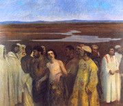 Joseph Sold into Slavery by his Brothers.  Ferenczy, Károly, 1862-1917  Click to enter image viewer  Use the Save buttons below to save any of the available image sizes to your computer.