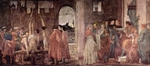 Martyrdom of Peter and Peter and Paul in Dispute Before Nero.  Lippi, Filippino, d. 1504  Click to enter image viewer  Use the Save buttons below to save any of the available image sizes to your computer.