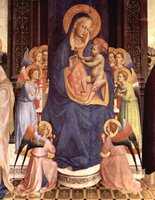 Madonna and Child.  Angelico, fra, approximately 1400-1455  Click to enter image viewer  Use the Save buttons below to save any of the available image sizes to your computer.