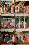 Scenes from the Life of Christ.  Angelico, fra, approximately 1400-1455  Click to enter image viewer  Use the Save buttons below to save any of the available image sizes to your computer.