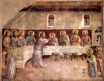 Last Supper.  Angelico, fra, approximately 1400-1455  Click to enter image viewer  Use the Save buttons below to save any of the available image sizes to your computer.