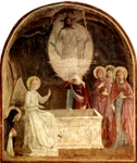 The Risen Christ.  Angelico, fra, approximately 1400-1455  Click to enter image viewer  Use the Save buttons below to save any of the available image sizes to your computer.