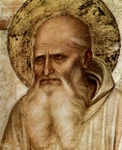 Detail of St. Mark.  Angelico, fra, approximately 1400-1455  Click to enter image viewer  Use the Save buttons below to save any of the available image sizes to your computer.