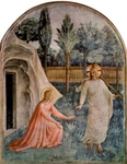 Noli Me Tangere - 'Do not hold me.'.