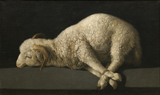 Lamb.  Zurbarán, Francisco, 1598-1664  Click to enter image viewer  Use the Save buttons below to save any of the available image sizes to your computer.