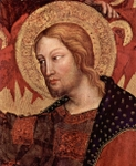 Jesus Christ.  Gentile, da Fabriano, ca. 1370-1427  Click to enter image viewer  Use the Save buttons below to save any of the available image sizes to your computer.