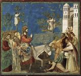 The Entry into Jerusalem.  Giotto, 1266?-1337  Click to enter image viewer  Use the Save buttons below to save any of the available image sizes to your computer.