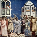 Massacre of the Innocents.  Bondone, Giotto di, 1266?-1337  Click to enter image viewer  Use the Save buttons below to save any of the available image sizes to your computer.