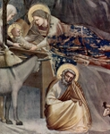 Birth of Christ.  Bondone, Giotto di, 1266?-1337  Click to enter image viewer  Use the Save buttons below to save any of the available image sizes to your computer.