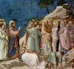 The Raising of Lazarus.  Giotto, 1266?-1337  Click to enter image viewer  Use the Save buttons below to save any of the available image sizes to your computer.