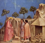 Joachim among the Shepherds.  Giotto, 1266?-1337  Click to enter image viewer  Use the Save buttons below to save any of the available image sizes to your computer.