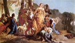 Finding of Moses.  Tiepolo, Giovanni Battista, 1696-1770  Click to enter image viewer  Use the Save buttons below to save any of the available image sizes to your computer.