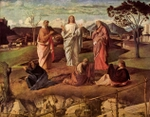 Transfiguration of Christ.  Bellini, Giovanni, 1426?-1516  Click to enter image viewer  Use the Save buttons below to save any of the available image sizes to your computer.
