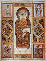Evangelist and Symbols.   Click to enter image viewer  Use the Save buttons below to save any of the available image sizes to your computer.